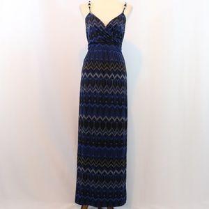 Lane Bryant Printed Jersey Maxi Dress